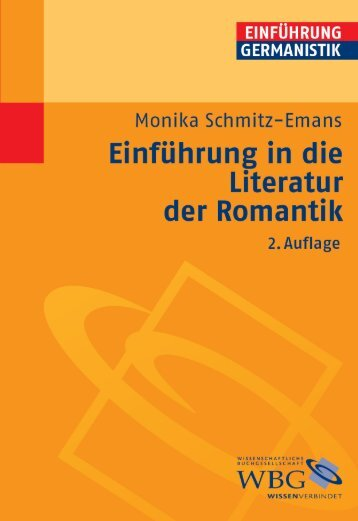 Einführung in die Literatur der Romantik - Die Onleihe