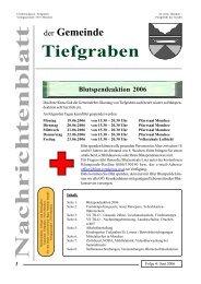 Folge 4 / Juni 2006 - Tiefgraben