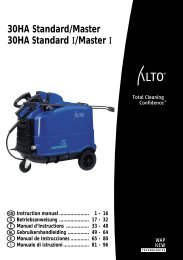 UM_30HA Standard-Master_DE - Nilfisk PARTS