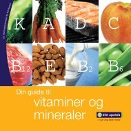vitaminer og mineraler - Ditt Apotek