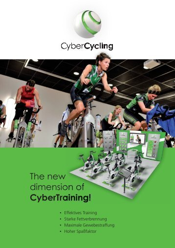 The new dimension of CyberTraining! - CyberCycling