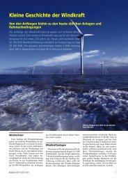 Eine kleine Geschichte der Windkraft - Poweron