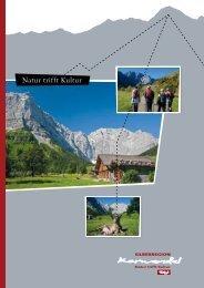 Natur trifft Kultur - Silberregion Karwendel