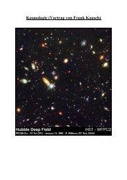 Kosmologie (Vortrag von Frank Kausch)