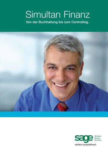 zur PDF-Dokumentation Sage Simultan Finanz - EDP-Services AG