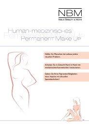 Human-medizinisches Permanent Make Up - AKZENT direct