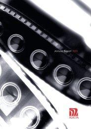 Annual Report 2002 - Agicoa