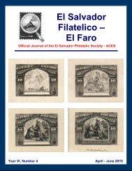 El Salvador Filatelico – El Faro - FIAF