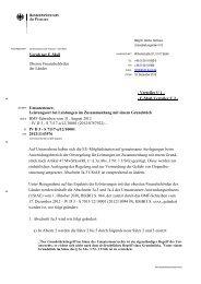 BMF-Schreiben zur Ortsbestimung bei Grundstücksleistungen ...