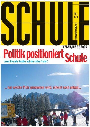 FEBER/MÄRZ 2006 - Landesschulrat Steiermark
