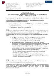 M E R K B L A T T - Formularserver der Landeshauptstadt Hannover
