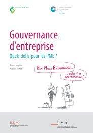 Gouvernance d'entreprise - Fédération des entreprises romandes