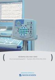 NEUROFAX EEG-9000 SERIE Electroenzephalographie – Systeme ...
