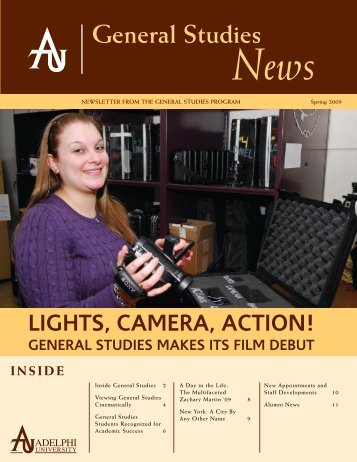 General Studies News - Adelphi University Academics