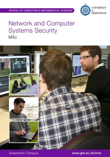 Network and Computer Systems Security - University of Greenwich
