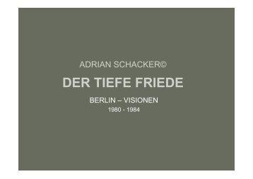 Bilder Der Tiefe Friede - Adrian Schacker