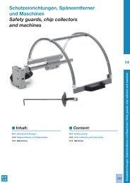 14_Schutzeinrichtungen & Maschinen - M.A.C.K Werkzeuge AG