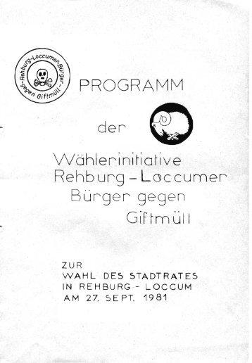 Rehburg - Loccumer Bürger gegen