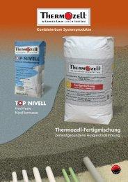 Prospekt im PDF Format laden - Thermozell Entwicklungs