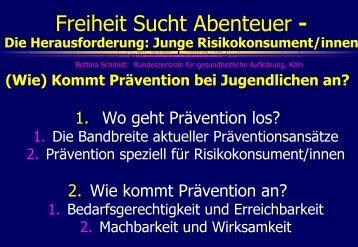 (Wie) Kommt Prävention bei Jugendlichen an? - Midames