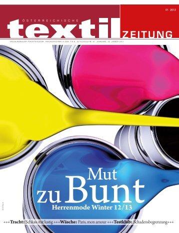 trends - Österreichische Textil Zeitung
