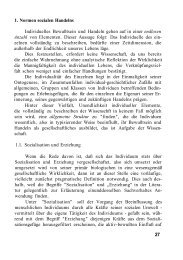 1. Normen sozialen Handelns Individuelles Bewußtsein ... - ter Horst
