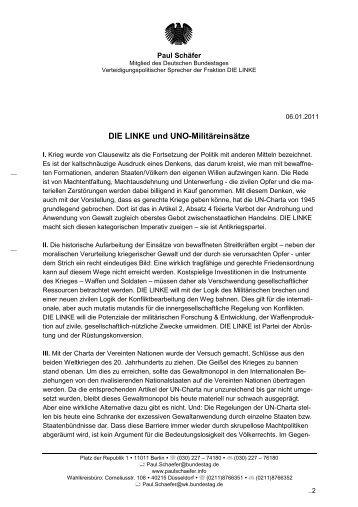 Dieses Thesenpapier als PDF - Paul Schäfer
