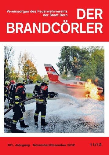 DER BRANDCÖRLER - Feuerwehrverein der Stadt Bern