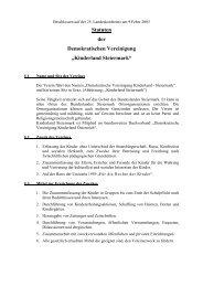 Landesstatuten Kinderland Steiermark