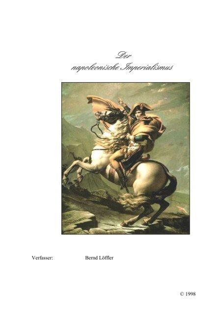 Napoleon 039 S Lebenslauf By Lea Cvijanovic 8