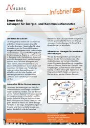 Smart Grid: Lösungen für Energie- und ... - Nexans