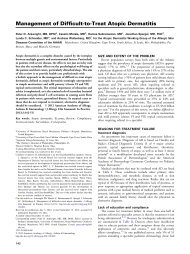 Management of Difficult-to-Treat Atopic Dermatitis - The American ...