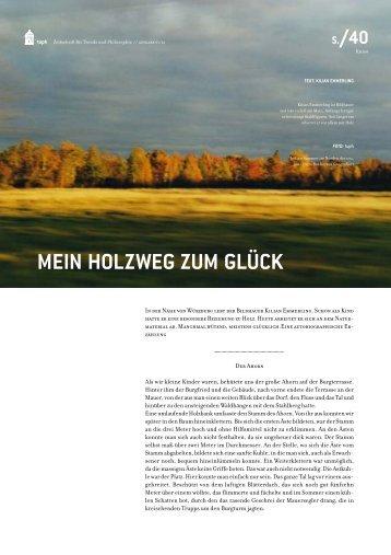 Artikel aus der Zeitschrift tuph 01/06 downloaden - Kilian-emmerling ...