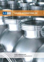 LAEUFER INTERNATIONAL AG - Matrix Process Solution