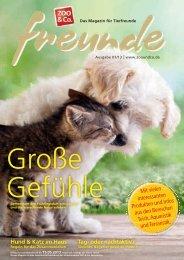 Freunde Magazin Frühling 2013 S. 01 - Alles für Tiere