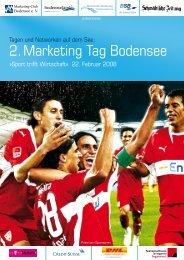 2. Marketing Tag Bodensee - Netzwerk-Bodensee