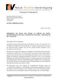 FG-Verw R-2012-06-20 Umw RBG-AEnd - Neue Richtervereinigung ...