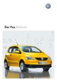 Der Fox Refresh - Autohaus Perski ohg