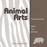 Claudia Rohleder Tierskulpturen Stein Ton Bronze