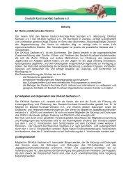 Satzung DK-Klub_neu_2013 - Deutsch-Kurzhaar-Klub Sachsen-eV