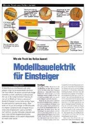 Modellbauelektrik für Einsteiger (PDF - 1 MB) - Alex Kalcher