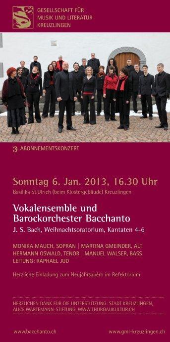 Programm als PDF - GML Kreuzlingen