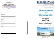 Flyer MR-Angio.pub - Dr. Wolf, Beckelmann & Partner GmbH