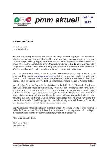 Download - Selbsthilfegruppen Plasmozytom / Multiples Myelom
