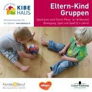 Eltern-Kind Gruppen - KiBeHaus