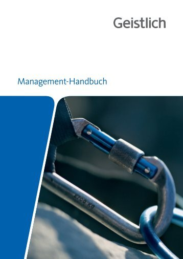 Management-Handbuch - Geistlich