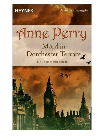 Leseprobe zum Titel: Mord in Dorchester Terrace - Die Onleihe