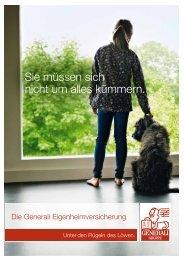 Folder Eigenheim - Generali TVG