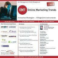 Online Marketing Trends - Searchmetrics