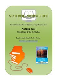Herbstdiktate für das 3. Schuljahr - School-Scout